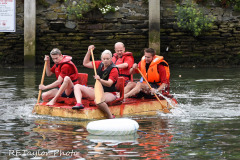 Kingsbridge - Kingsbridge Fair Week - Raft Race - HMS Quayside