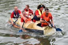 Kingsbridge - Kingsbridge Fair Week - Raft Race - Team Heatgrime