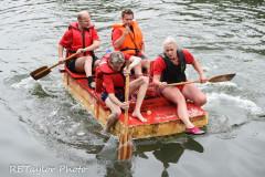 Kingsbridge - Kingsbridge Fair Week - Raft Race - Special Delivery