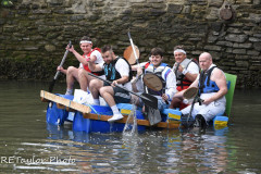 Kingsbridge - Kingsbridge Fair Week - Raft Race - The Pat Rafters