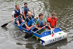 Kingsbridge - Kingsbridge Fair Week - Raft Race - Toad Hall