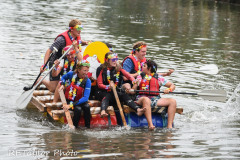 Kingsbridge - Kingsbridge Fair Week - Raft Race - Higher Borough Drunkards