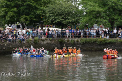 Kingsbridge - Kingsbridge Fair Week - Raft Race - The final